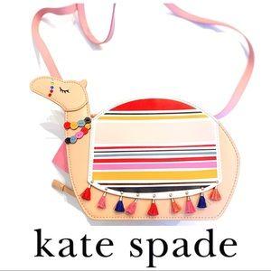 Kate Spade camel spice things up crossbody bag